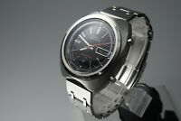 Vintage 1971 JAPAN SEIKO 70 SPORTS5 SPEED-TIMER 7017-6040 21Jewels Automatic.