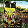 Hippy Van Peace Tie Dye for iPhone 5 5s 4 4s 5c 6 6 7 8 Plus iPod Pone Case