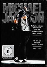 Michael Jackson - The Life And Times Of The King Of Pop 1958-2009  DVD  NEU&OVP!