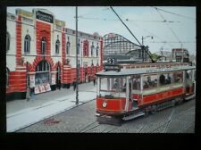 POSTCARD MANCHESTER TRAMCAR 765 ON ROUTE 53