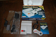 Nintendo NES-101 Top Loader Console COMPLETE In Box CIB TESTED WORKS 1 Dogbone