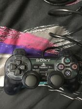 Sony Dualshock 2 PS2 Controller Clear Blue/Gray