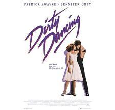 "DIRTY DANCING POSTER ""BRAND NEW"" PATRIC SWAYZE, JENNIFER GREY (61cm X 91.5cm)"