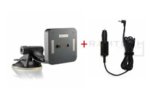 Rand McNally Suction Cup+Magnetic Slice Mount+Charger For TND 740 GPS