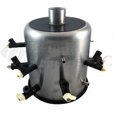 Virtis Freeze Dryer 16-Port Stainless Steel Manifold Drum with 9 Valves
