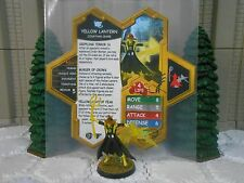 Heroscape Custom Yellow Lantern Scarecrow Dbl Sided Card & Figure w/ Sleeve DC