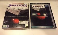 Star Wars Supremacy - PC CDROM - Original big box - VGC with manual/book