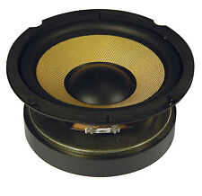 """QTX QXW6 6.5"""" HIGH POWER WOOFERS WITH ARAMID CONE 125W RMS, 250W MAX (PAIR OF)"""