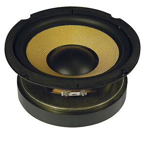"""QTX QXW6 6.5"""" HIGH POWER WOOFER WITH  ARAMID CONE 125 WATTS RMS, 250 WATTS MAX"""