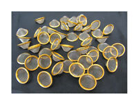 12mm 15mm 17mm 20mm Pipe Screens Gauzes Conical Steel Brass Bowl Metal Filters