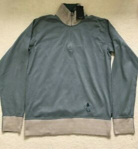 """Paul Smith Long sleeve Training top / sweater Blue   p2p 21.5""""   Size L"""