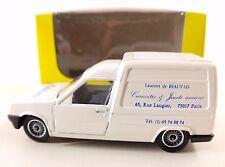 Solido PUB Renault Express Laurent de Beauvais jouets Paris neuf boite MIB 1:43