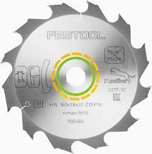 Festool Panther-Sägeblatt 160x1,8x20 PW12 für HK 55 / HKC 55 - 500460