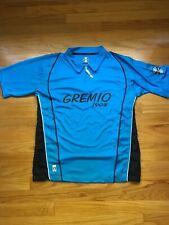 GREMIO FBPA blue  futbol soccer Polo Shirt BANRISUL Brazil Blue FBPA Size M