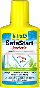 Tetra SafeStart 250ml Aquarium Water Treatment Tropical Fish Tank Bacteria