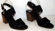 Vince Camuto Karmelo Black Two Piece Heeled Sandals Women's Size 12M NEW