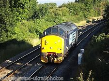 British Rail / DRS 37261 Crewe Gresty bridge to Long Marston Rail Photo