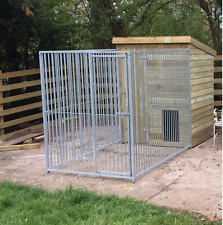 Large Dog Kennel and BAR Run 3.2m x 1.5m