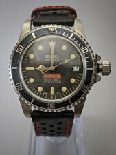 Limited rare Seiko NH35 Rusty vintage modded 1680  Red Supreme Submariner Homage
