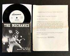 MECHANICS No Brakes/Drivin' Me Away RARE CA PUNK 45 w/LETTER! 1980 Bags Social D