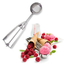Stainless Steel Ice Cream Scoop Mash Potato Spoon Handle Food Ball Maker