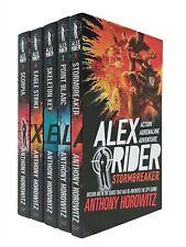 Alex Rider 5 Books Adventure Series Kids Stormbreaker Anthony Horowitz 1 - 5 New