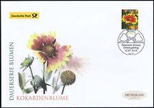 BRD 2018: Die Kokardenblume! Post-FDC der Nr. 3404 mit Berliner Stempel! 1809