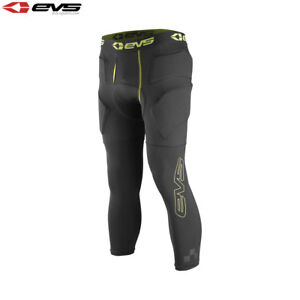 EVS TUG Impact 3/4 Pant Black Base Layer Compression Leggings MX Impact Armour