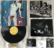 THE ROLLING STONES Jagger Richards Watts 5 Signed Photos UNDERCOVER LP Card COAs