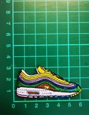 SEAN WOTHERSPOON NIKE AIR MAX IRON ON EMBROIDERED PATCH UK SELLER