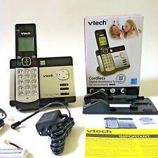 New cordless phone answering machine black silver  CS5129 digital call waiting