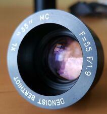 Benoist Berthiot XL multicoated 55mm f/1.9 Full frame [Angenieux, Kinoptik]