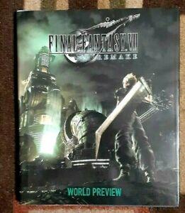 Final Fantasy VII Remake World Preview Hardback Art Book