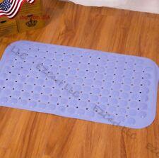 Usa Long Bath Mat Non Slip Suction Cups Bathroom Bathub Tub Vinyl Shower Mat