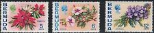 Bermuda SC259b-263a Lovely Bermuda Flowers-UprightWatermark-MNH 1974