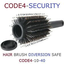 Hair Brush Diversion Safe hide valuables home keys discreetly in plain sight