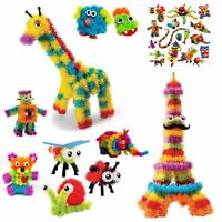 Kids Bunchems Mega Pack Over 1600 Pieces Children Toy Festival Birthday Gift