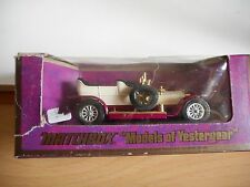 Matchbox Models of Yesteryear 1906 Rolls Royce Silver Ghost Y-10 in White in Box