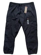 Levi's Men's Aviator Utility Joggers Pants Black XXL 2XL Loose Tapered Ripstop