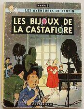 Tintin Les Bijoux de la Castafiore HERGE éd Casterman B 34 1963 EO