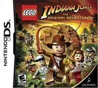 Lego Indiana Jones: The Original Adventures For Nintendo DS DSi 3DS 2DS 3E