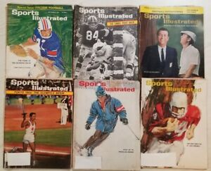 Sports Illustrated - 1964 - Lot of 6 Magazines -  Lot