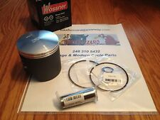 Honda Elsinore CR250 CR MT 250 Wossner Piston Pin Rings Clips Kit 1973 74 NEW!
