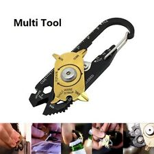 20 in 1 Multifunctional Pocket EDC Multi Tools Keychain Outdoor Survival Tool