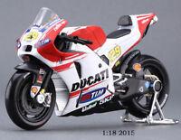 MAISTO 1/18 Moto GP Ducati #04 Andrea Dovizioso Diecast Model Motorbike Toys