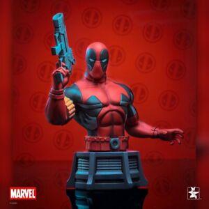 Diamond Marvel Animated Deadpool Bust - X-Men, Wolverine