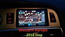 Audi MMI 2G 2018 Straßenkarte Strassenkarte Navi Europe A4, A5, A6, A8, Q7