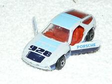 Vintage coche modelo Matchbox Toys Porsche 928 made en macao 1979 raras