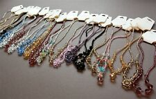 21 New Crystal Beads Mixed Necklace Jewelry Lot Wholesale Clearance