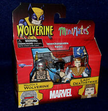 Marvel MiniMates Series 72 WEAPON X WOLVERINE & LADY DEATHSTRIKE Figure 2 PK